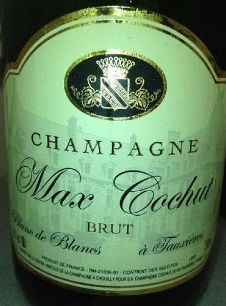 Champagne Max Cochut Blanc de Blancs Brut