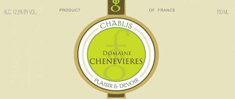 Chablis 1er Cru Fourchaumes Domaine des Chenevières