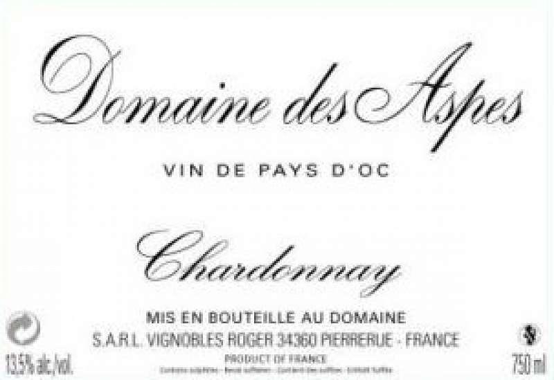 Domaine des Aspes (chardonnay)