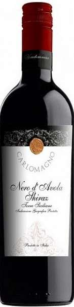 Nero d'Avola-Syrah Carlomagno