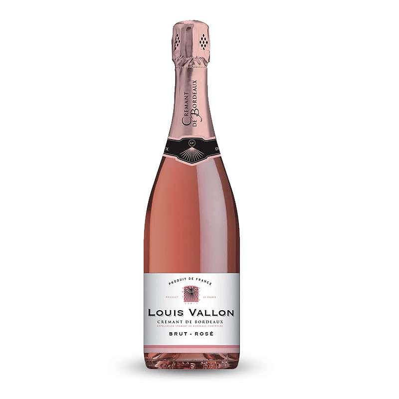 Crémant de Bordeaux Louis Vallon Rosé