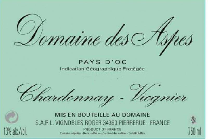 Domaine des Aspes (chardonnay - viognier)