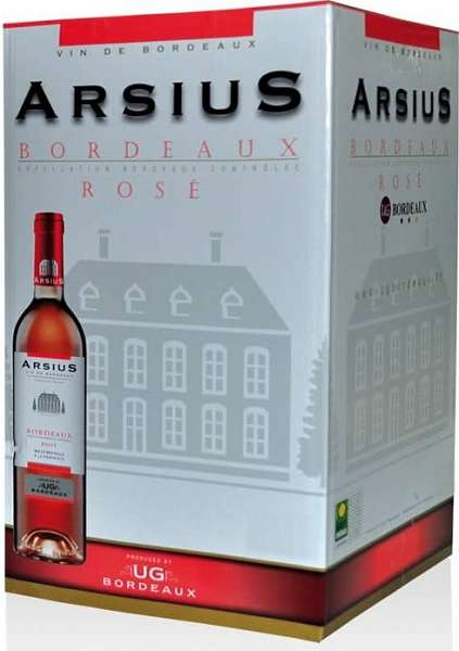 BIB (Bag in Box) Bordeaux Rosé AOC Arsius 5 liter